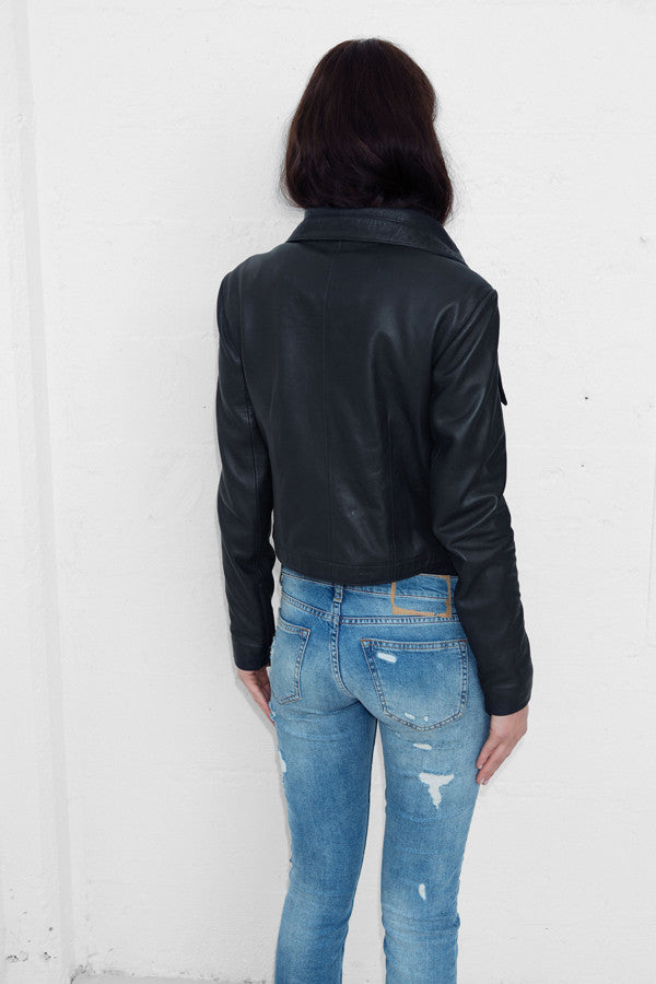 80s Leather Jacket - ALMOST SOLD OUT