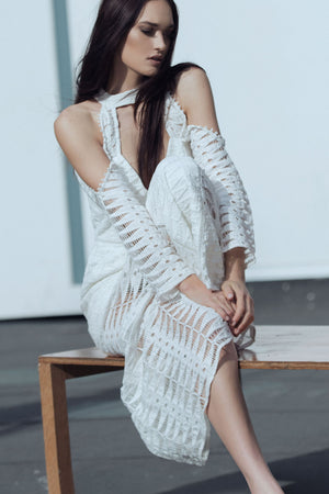 Time Stops Dress - White Lace - SPRING INTO IT SALE - NOW ONLY $99