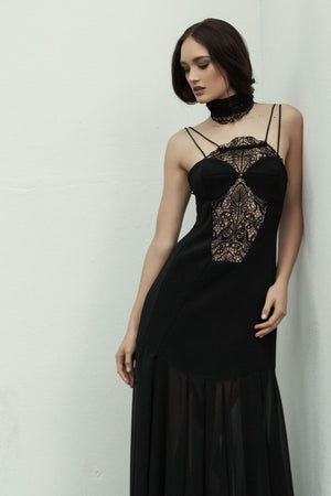 State of Time Dress - Black Lace - FLASH SALE - NOW ONLY $80