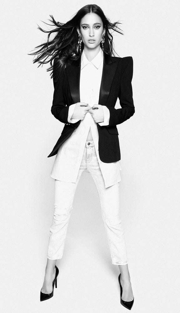 Signature High Shoulder Jacket Tuxedo 1.01 - BEST SELLER - BACK IN STOCK