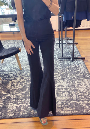 Stretch Flare Pant - WAREHOUSE SALE - Last Chance - Black