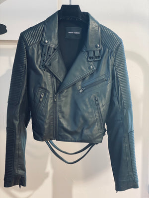 ARCHIVE SAMPLE - Moto Biker Jacket - Black