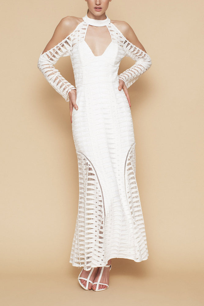 Time Stops Dress - White Lace - FLASH SALE - NOW ONLY $99