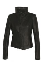 Leather Tumble Jacket - Size 10 & Size 12 $399 limited time