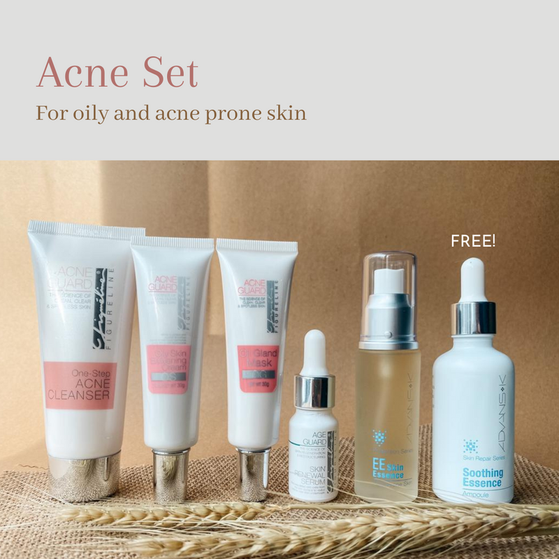 Acne Set - Oily & Acne Prone Skin