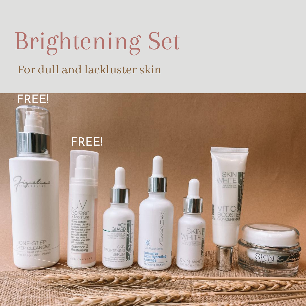 Brightening Set - For Dull & Lackluster Skin