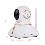 2x 1080P Wireless IP Camera White