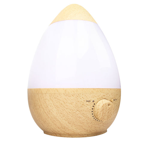 Ultrasonic Cool Mist Air Humidifier 2.3L Natural Wood