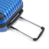 Set of 2 Hard Shell Travel Luggage with TSA Lock - Blue