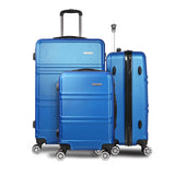 "Wanderlite 3pc Luggage Set 20"", 24"" and 28"" - Navy"