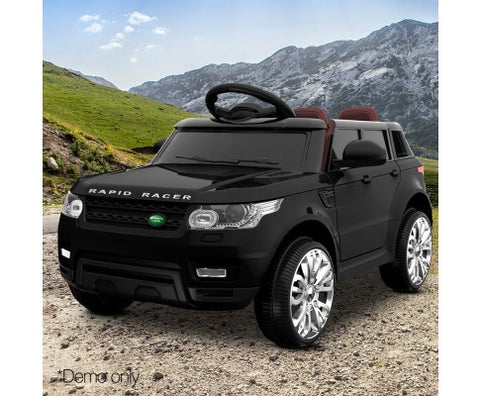 Kids Replica Range Rover Ride On Car - Black