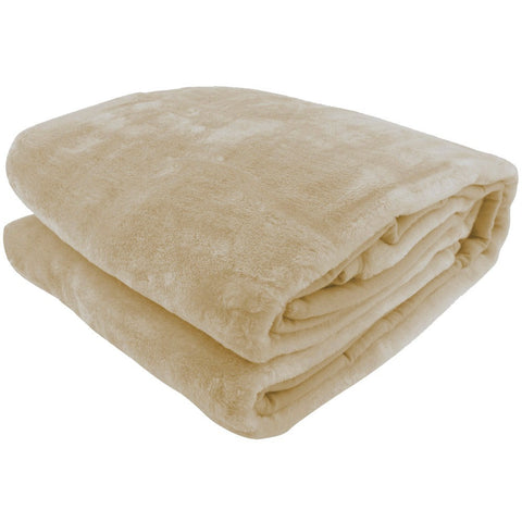 Laura Hill Double Sided Queen Mink Blanket - 5 Colours Available