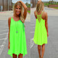 Mini Dress Fluorescence Casual Sleeveless - Store One Way