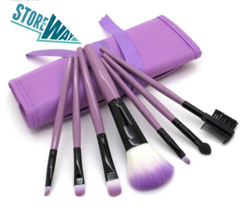 Professional Cosmetic Makeup Brushes with Bag Case