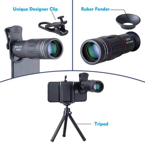 18X Zoom Cell Phone Lens