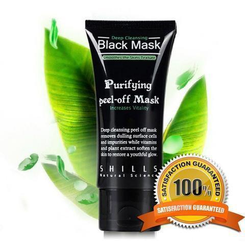 BLACK MASK™ MASQUE VISAGE AU CHARBON ANTI POINTS NOIRS