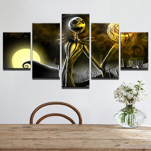 Halloween Canvas Poster 5 Pieces - Store One Way