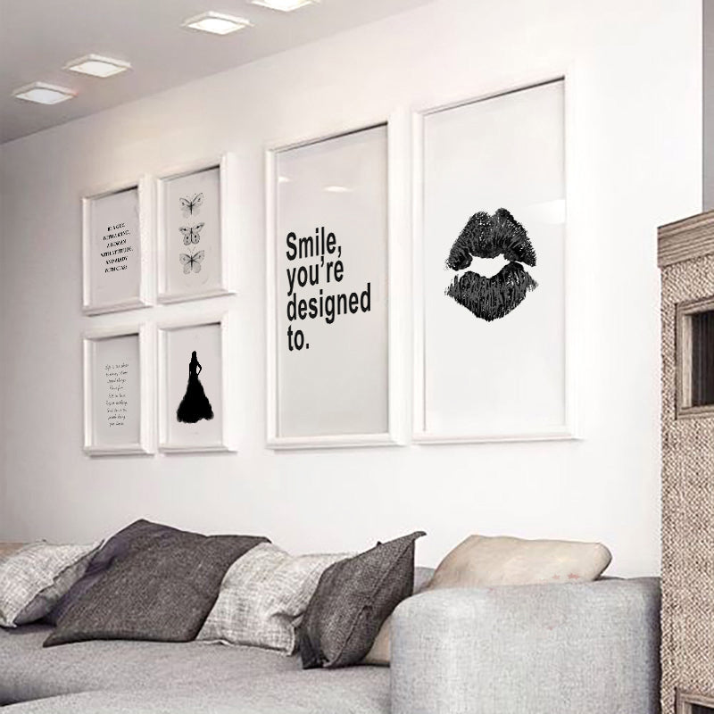 Nordic Canvas Art Poster - Store One Way