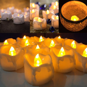 LED Plastic decorative candles