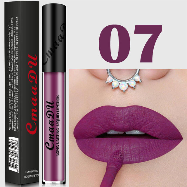 16 Color Lipstick Long Lasting Waterproof