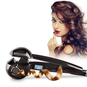 PROFESSIONAL AUTOMATIC HAIR CURLER - Store One Way