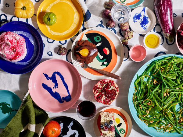 Feast Tableware by Yotam Ottolenghi and Ivo Bisignano, for Belgian design label Serax