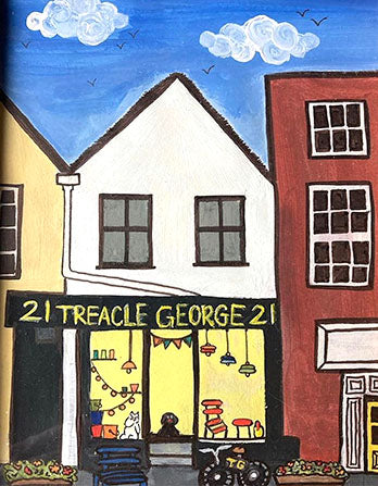 Treacle George Shop and Showroom in Tetbury in the Cotswolds