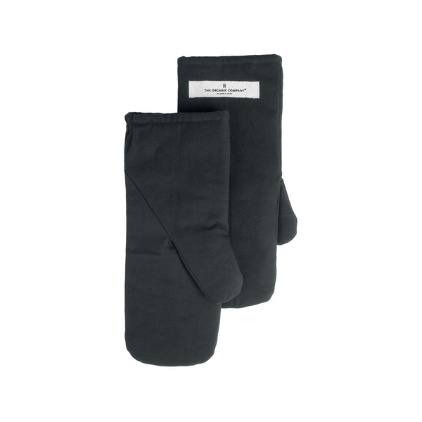 THE ORGANIC COMPANY | Oven Mitts | Medium | Dark Grey