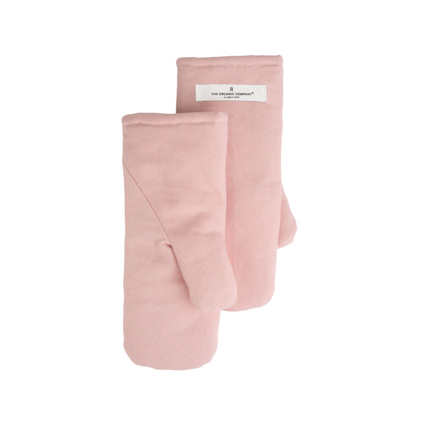 THE ORGANIC COMPANY | Oven Mitts | Medium | Pale Rose