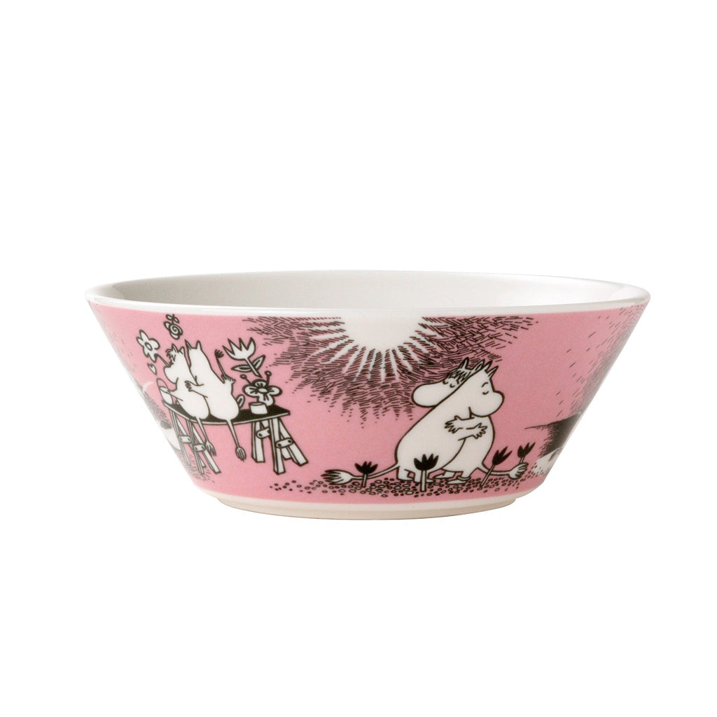 ARABIA | Moomin | Classics | Ceramic Bowl | Love | 15cm