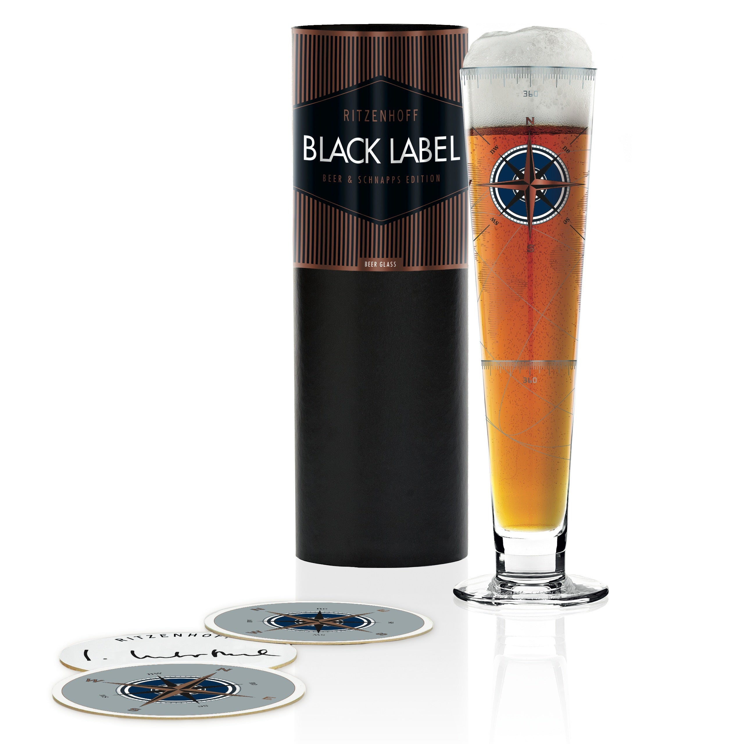 RITZENHOFF Black Label Beer Glass Design: I. Interthal 2018