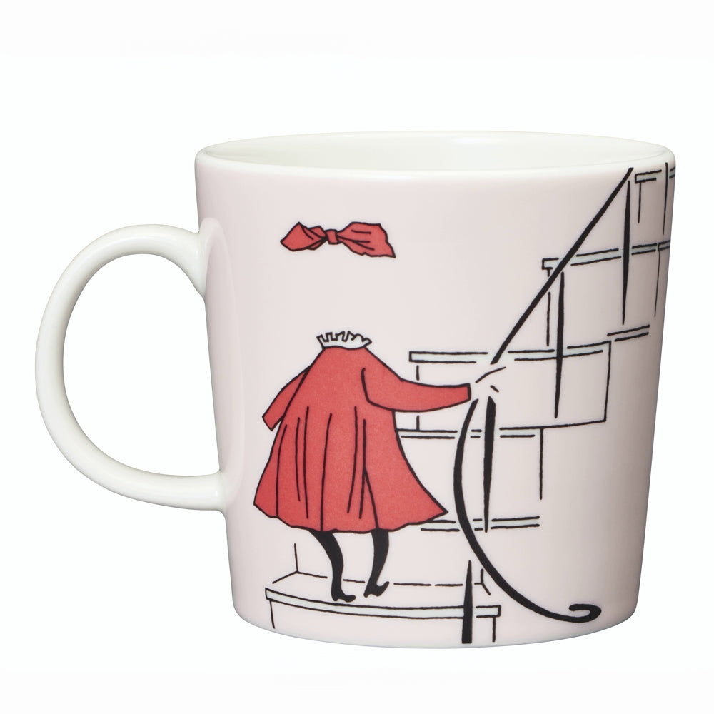 ARABIA | Moomin | 75th Anniversary Classic Porcelain Mug | Ninny | Powder | 30cl