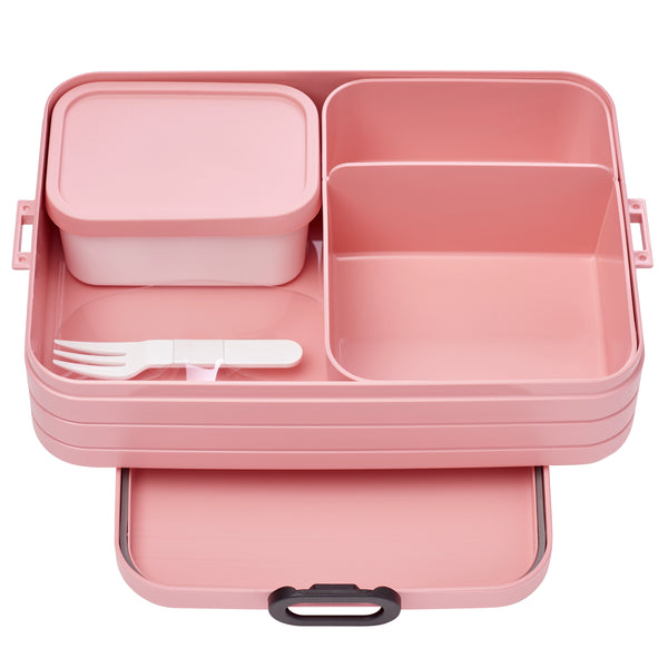 MEPAL | Bento Lunchbox | Large | Nordic Pink