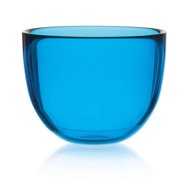 DAVID MELLOR | Glass Bowl | Aqua Blue | 13cm