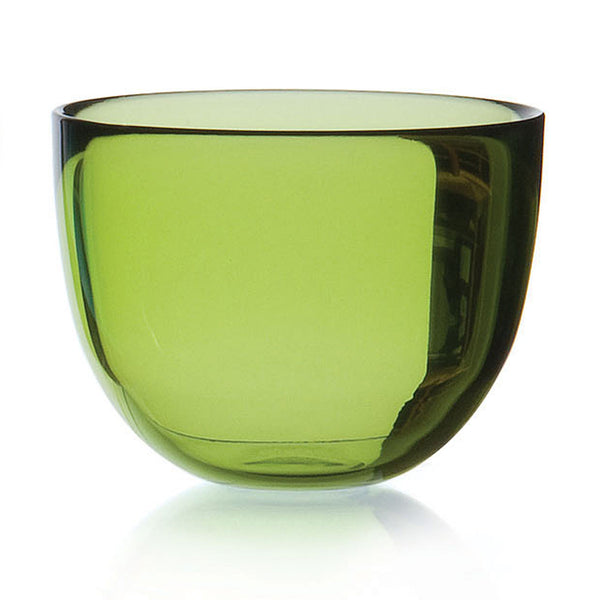 DAVID MELLOR | Glass Bowl | Lime Green | 13cm
