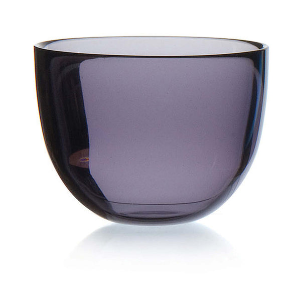 DAVID MELLOR | Glass Bowl | Purple | 13cm