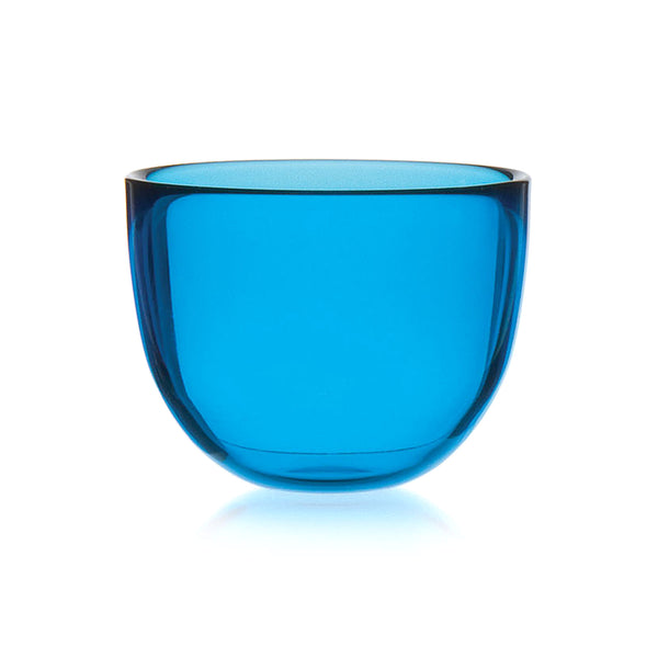 DAVID MELLOR | Glass Bowl | Aqua Blue | 10cm