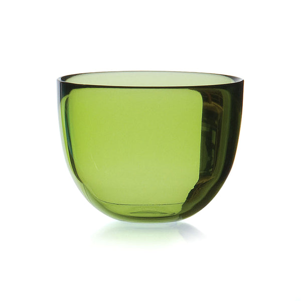 DAVID MELLOR | Glass Bowl | Lime Green | 10cm