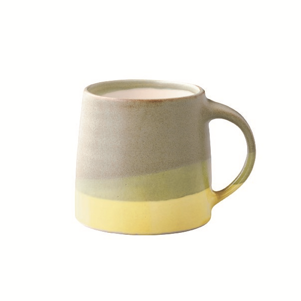 KINTO | SCS-S03 Mug | 320ml | Moss Green & Yellow