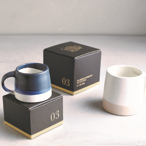 KINTO | SCS-S03 Mug | 320ml | Navy & White