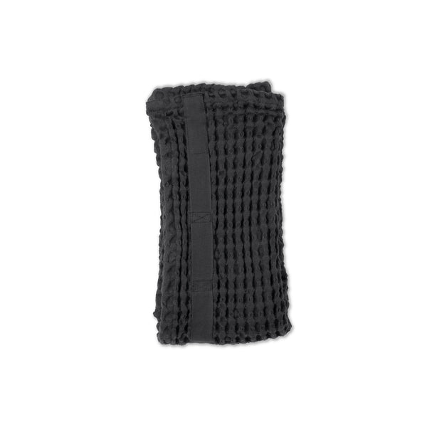 THE ORGANIC COMPANY | Big Waffle Hand Towel | Dark Grey