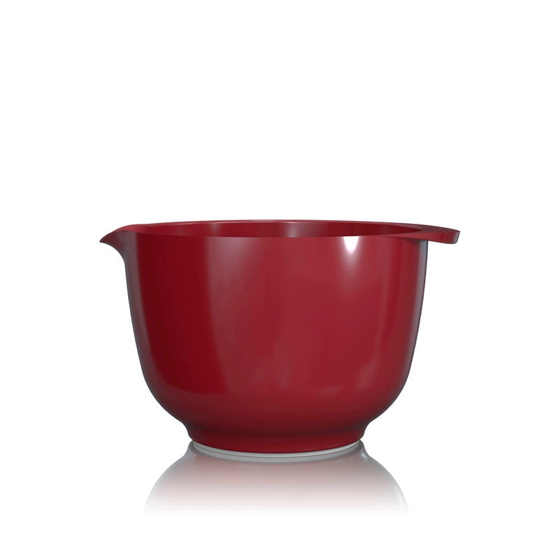 Rosti Margrethe Mixing Bowl | 2L Bowl with FREE Lid Cover | Red