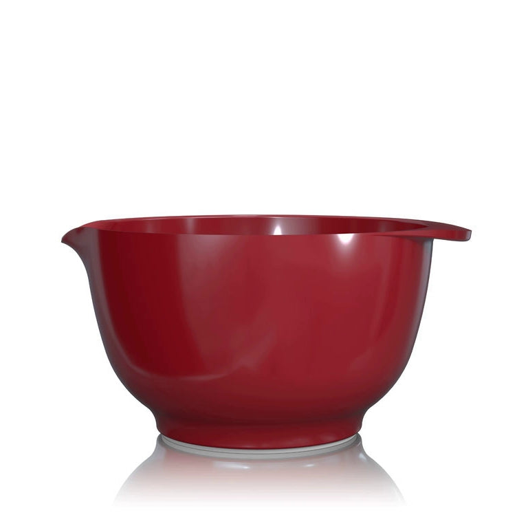 Rosti Margrethe Mixing Bowl  | 3L Bowl with FREE Lid Cover | Red