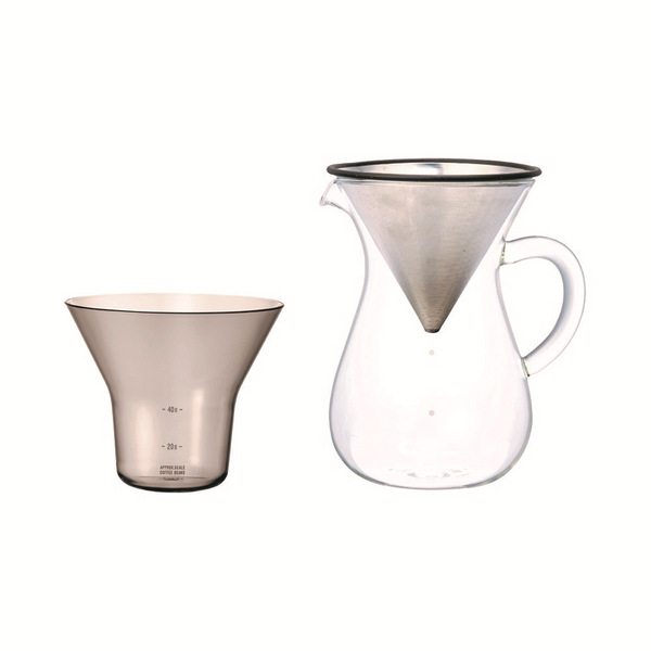 KINTO | SCS-04 Coffee Carafe Set | Stainless Steel | 600ml