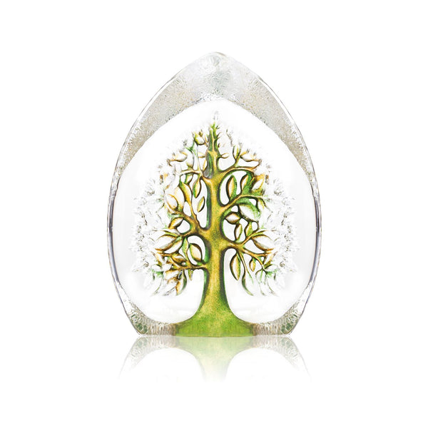 MÅLERÅS | Nordic Icons | Tree of Life Yggdrasil | Green & Yellow | Large