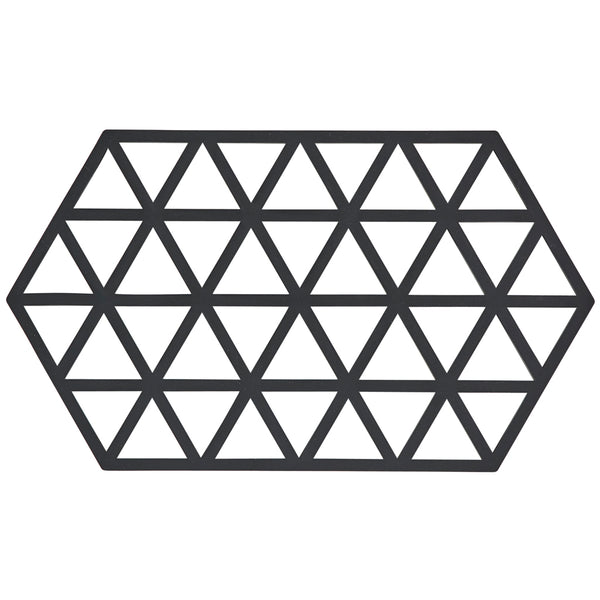 ZONE | Trivet | Triangles | Black | Large