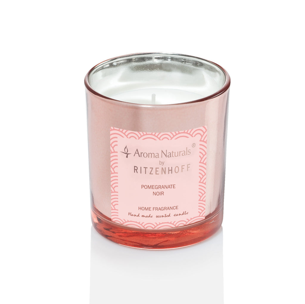 AROMA NATURALS | Luxury | Scented Candle | Pomegranite Noir | 75mm