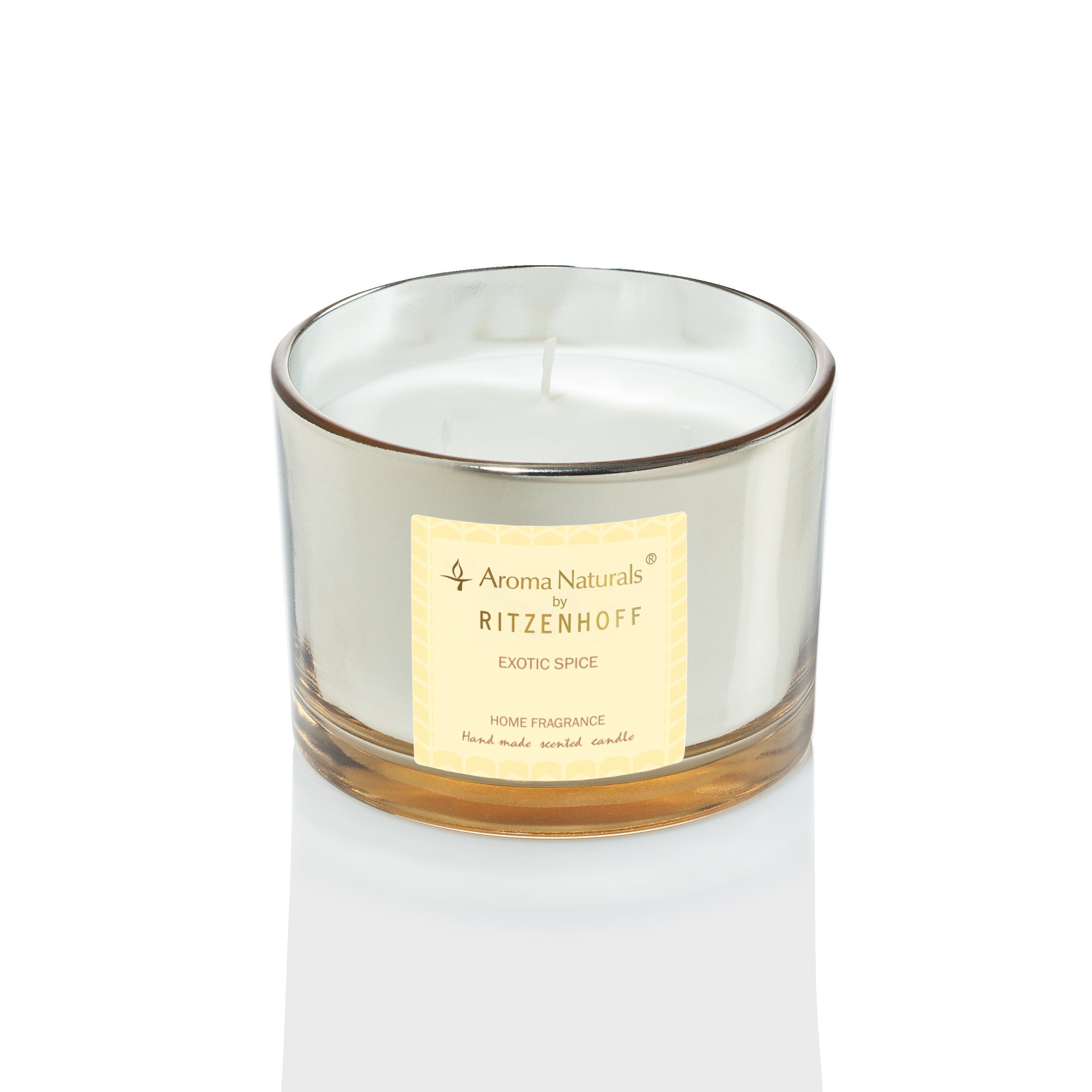 AROMA NATURALS | Luxury | Scented Candle | Exotic Spice | 110mm