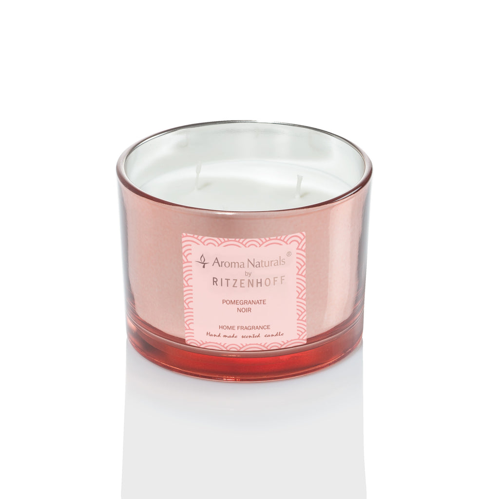 AROMA NATURALS | Luxury | Scented Candle | Pomegranite Noir | 110mm