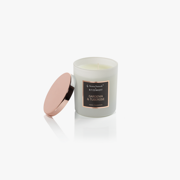 AROMA NATURALS | Selection | Scented Candle | Gardenia & Tuberose | 80mm